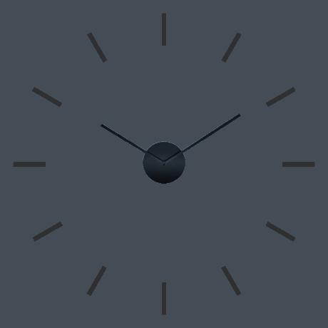 FU40D8310B Wall Clock